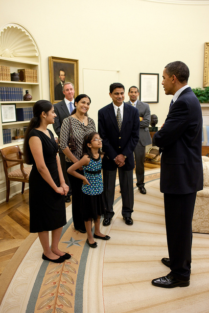 Kavya meets the President!