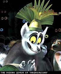 king julian madagascar condition