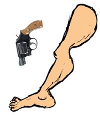 Shooting Oneself in the Foot